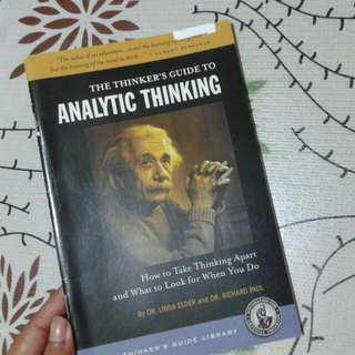 The Thinker's Guide to Analytical Thinking