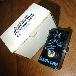 Subdecay Blackstar Distortion V1