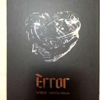 VIXX-Error韓國進口版(空專)