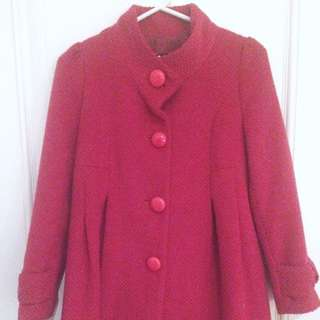 MISSION Hot Pink Knit Coat