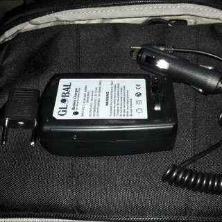 Nikon D5200 Battery Charger with Car Plug Extension