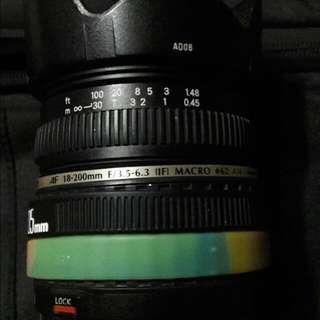 Tamron 18-200mm f3.5 Zoom Macro Lens