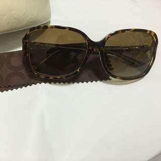 Brand New Coach 5049/t5 Tortoise Polarized Sunglasses
