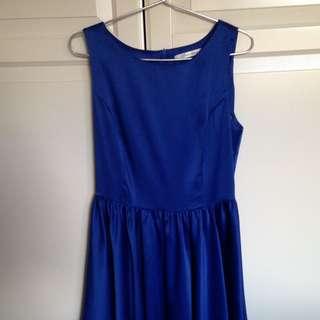 Size 8 Royal Blue Dress