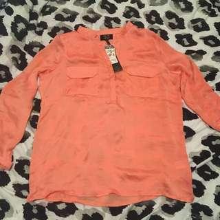 ICE fashion Orange Blouse