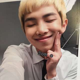 [Reserved] Rap Monster 3rd Muster Photo Album Mini Photo