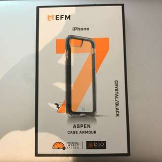 EFM iPhone 7 Aspen Case Armour D30 Crystal/Black