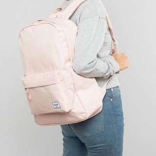 Herschel 基本 簡單 後背包 三色 粉紅色