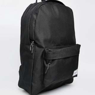 Herschel 基本 簡單 後背包 三色 黑色