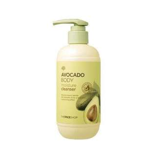THE FACE SHOP Avocado Body Moisture Cleanser 300ml