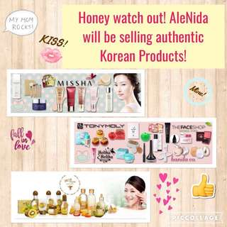Authentic Korean Products