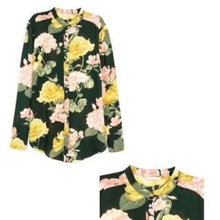 H&M Long Sleeved Blouse