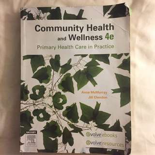 Community Health And Wellness 4 Edition