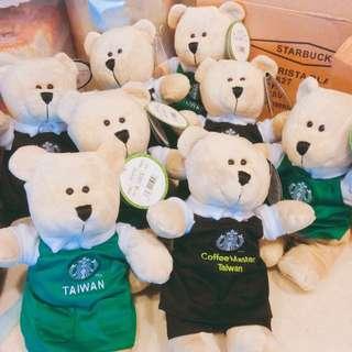 Starbucks台灣限定熊寶寶