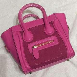 韓國粉色囧包