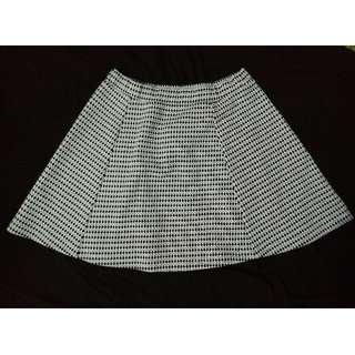 Skirt - Mini Skirt jacquard