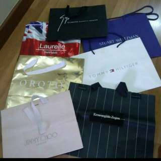 Authentic Designer/Branded Paper Bags (FOR ALL)