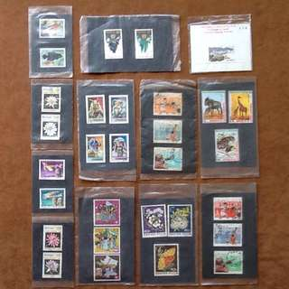 Rare Exotic Vintage Stamps