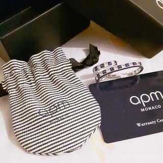 專櫃品牌APM造型雙指戒