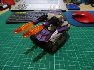 Transformers Animated Blitzwing Loose Complete