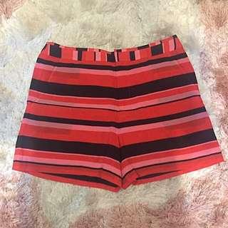 B + Ab Stripes Short Pants