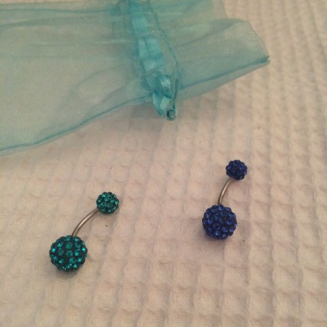 2x Belly Rings