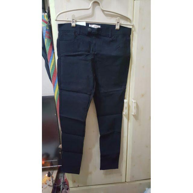 彈性窄管褲