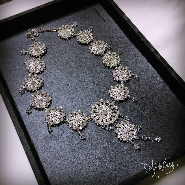 庫愛-新娘飾品(項鍊.耳環)