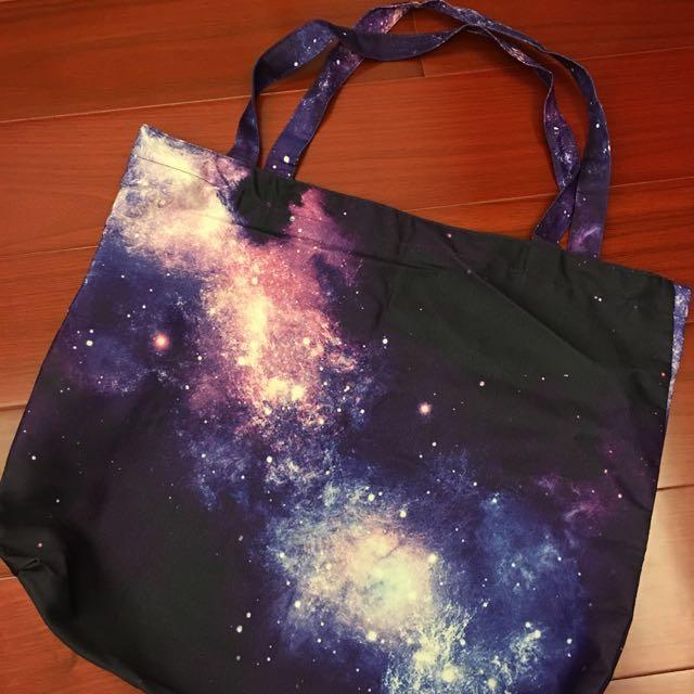 渲染星空提袋