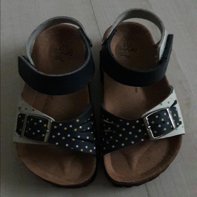 博肯鞋 童鞋 涼鞋 16公分