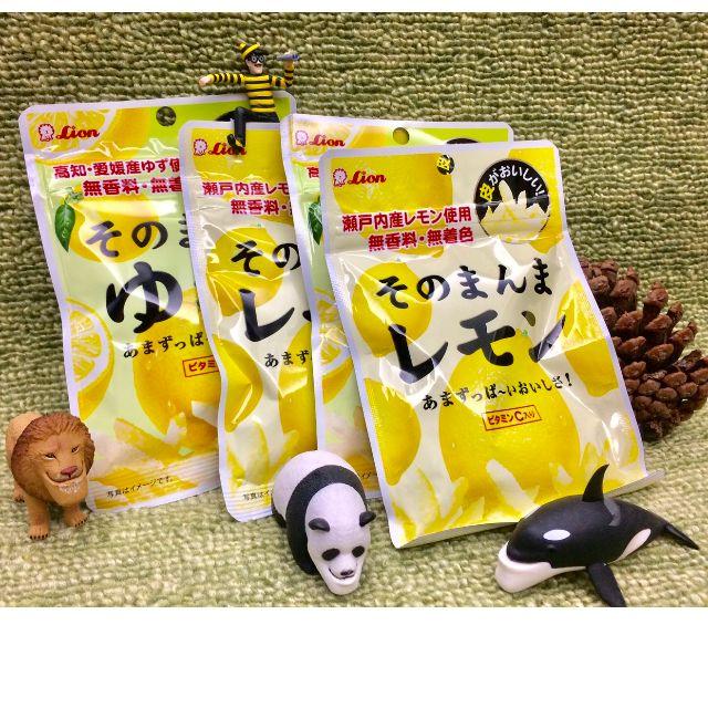 當天出貨!✨日本 火紅零食 LION 獅王 檸檬條 柚子條 (現貨)✨