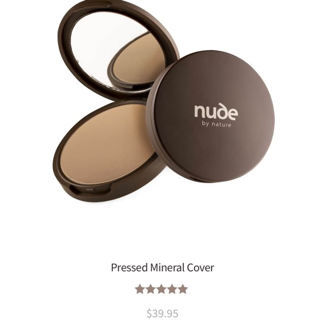 Nude By Nature - Pressed Mineral Cover - medium (RRP $39.95)