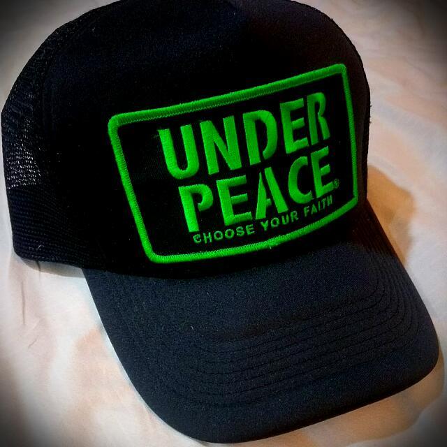 便宜賣 UNDER PEACE 卡車帽 網帽 8成新
