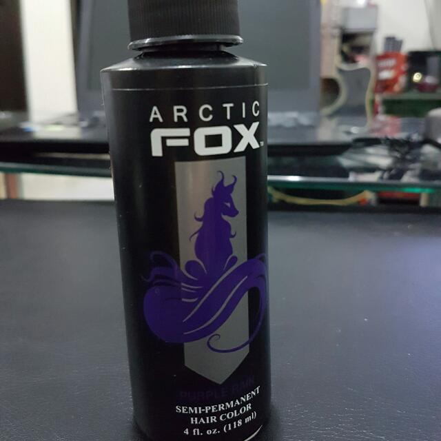 Arctic Fox Purple Passion Semi- Permanent Hair Dye