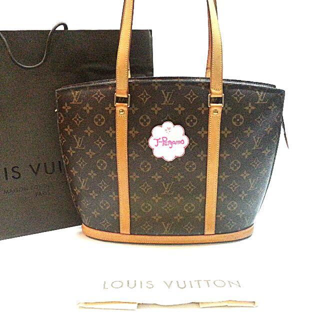 fc16b524b02d2 Authentic Louis Vuitton Monogram Canvas Babylone Shoulder Bag ...