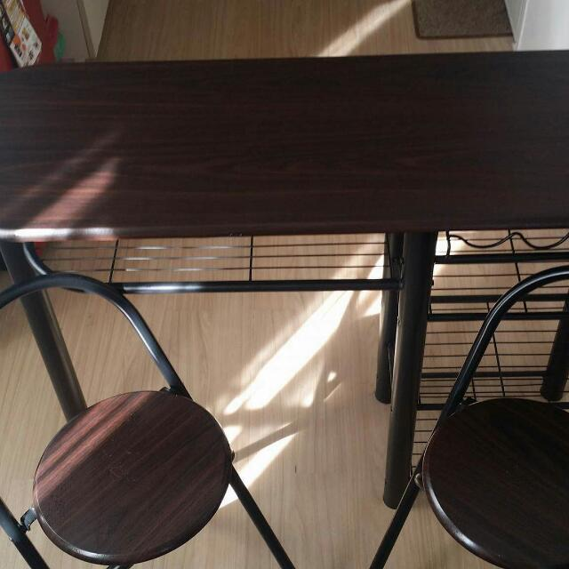 Bar Dining Table With Chairs
