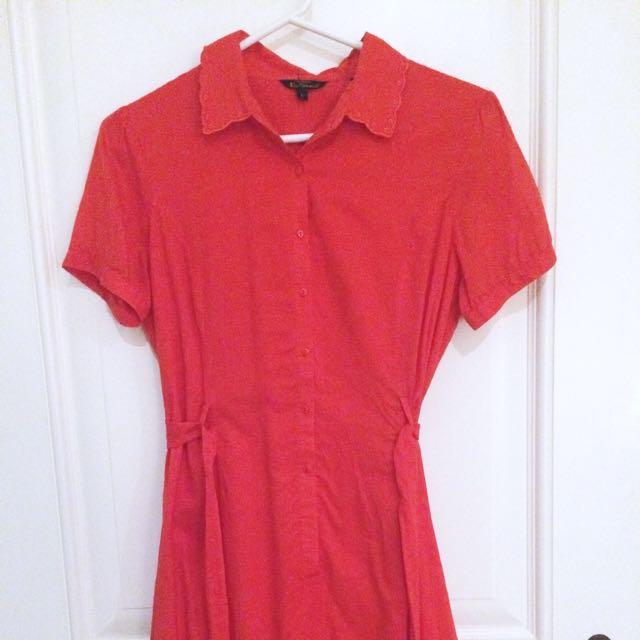 BEN SHERMAN Vintage Style Dress