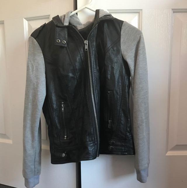 Black & Grey jacket/jumper
