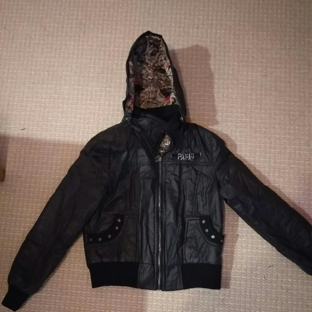 Black 'Paris' Jacket