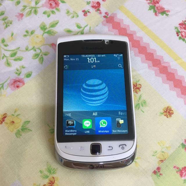 Blackberry Bb Torch 9810 White