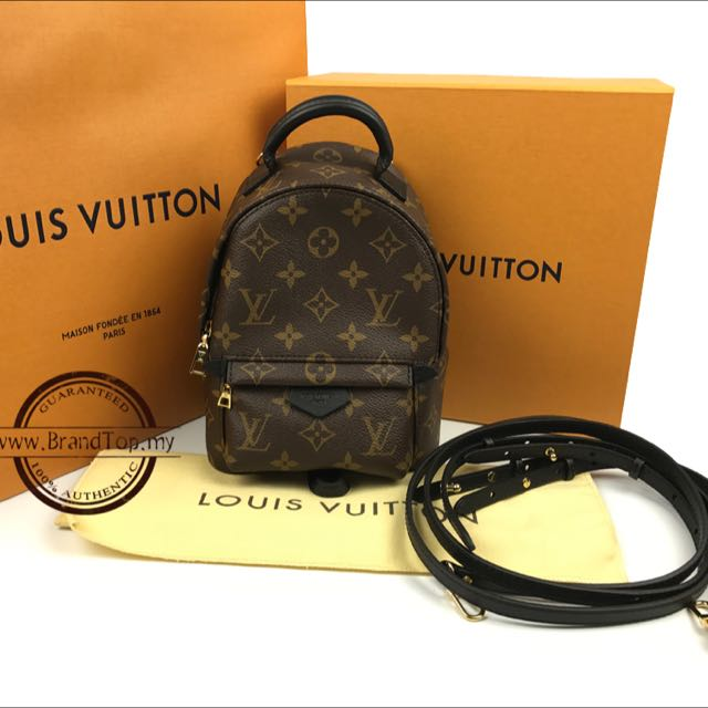 d81f725aaf3a BRAND NEW Louis Vuitton Monogram Palm Springs Backpack Mini M41562 ...