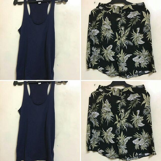Bundle Skirt And Top