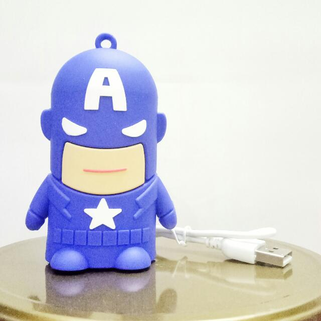 Capt America Powerbank 8800mAh