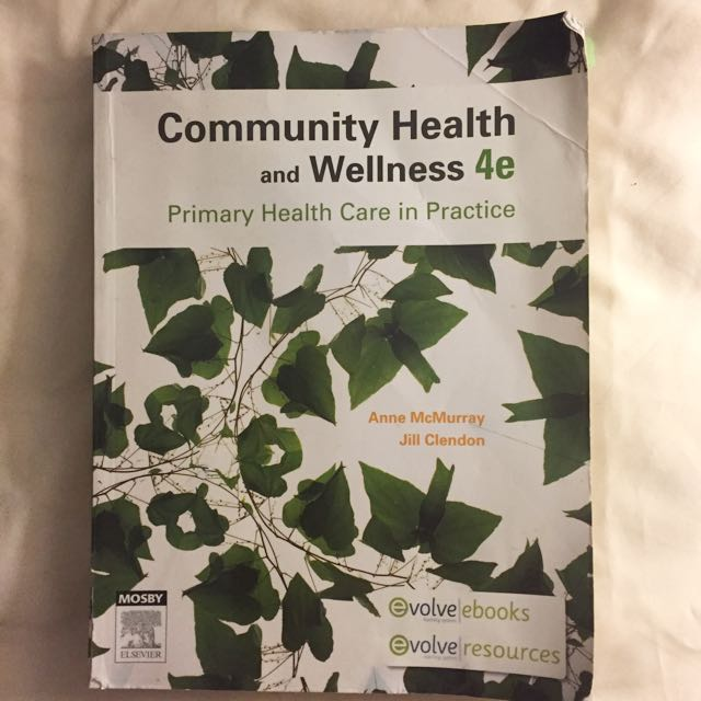 Community Health And Wellness 4 Edition