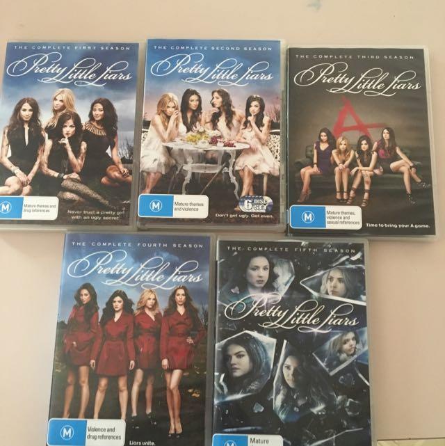 Complete Season 1-5 Pretty Little Liars