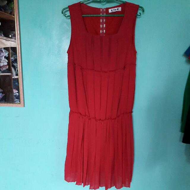 Repriced!  Red Dress