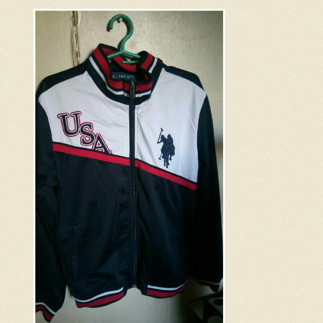 Euc US Polo Jacket Can Fit M to L