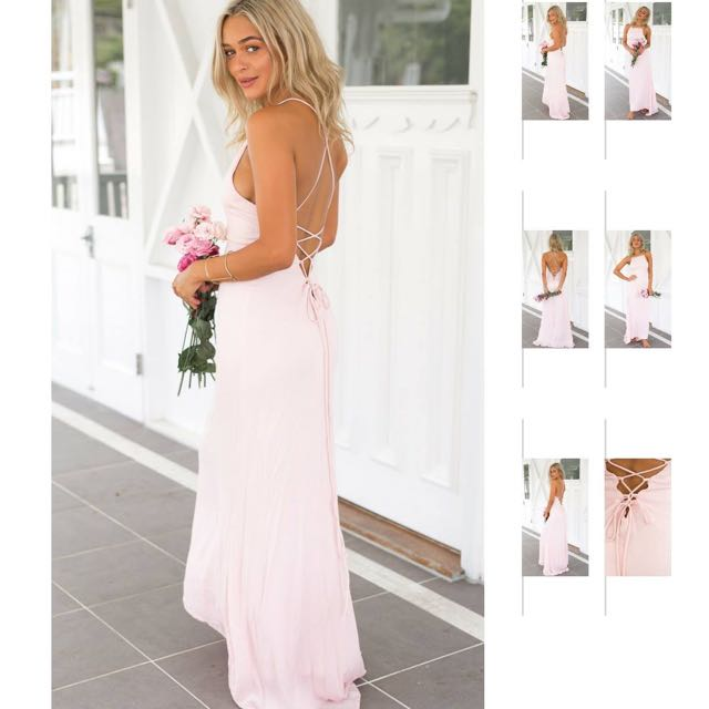 Formal Blush Pink Dress