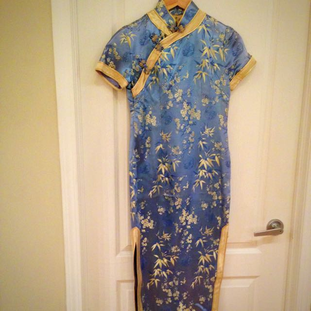 full length chinese dress