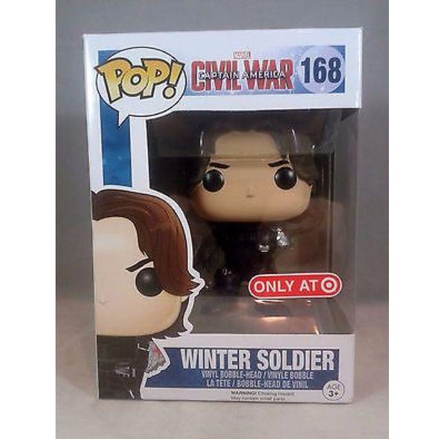 Marvel Civil War #168 Winter Soldier Target Exclusive Funko POP